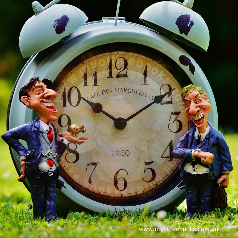 Find time for your bookkeeping