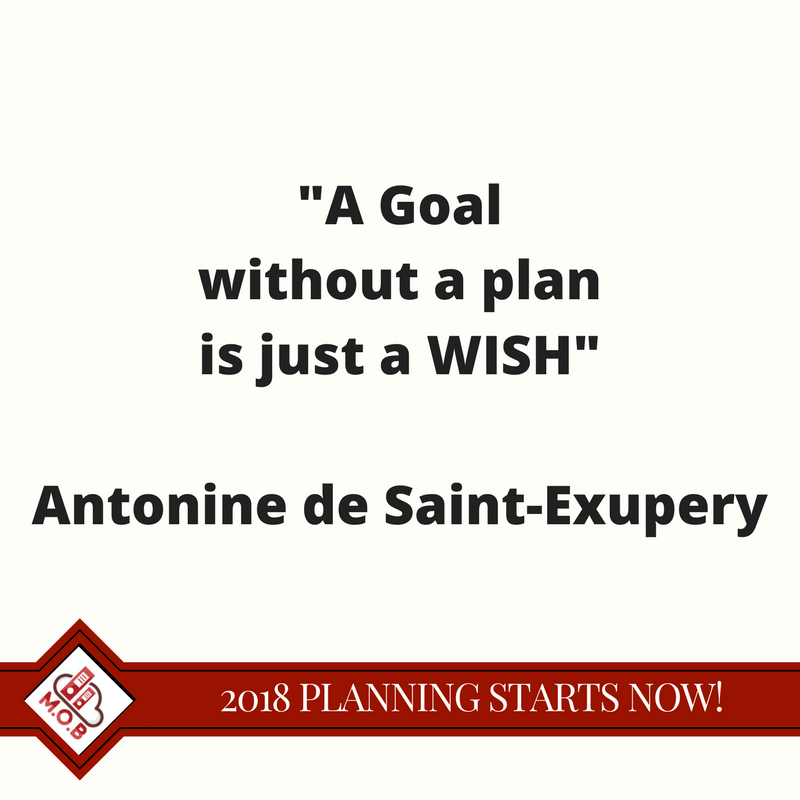 goals need plans or they are just a wish